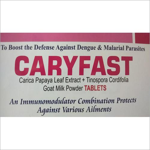 Carica Papaya Leaf Extract Tinospora Cordifolia Goat Milk Powder Tablets