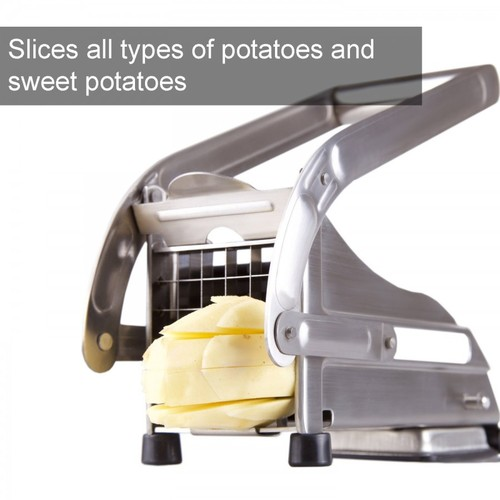 STAINLESS STEEL POTETO FRENCH FRIES MACHINE