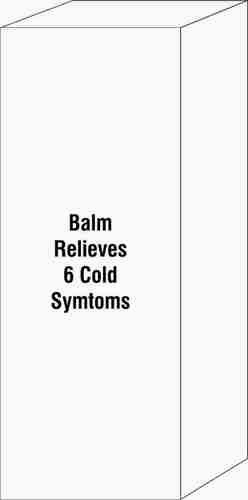 Balm Relieves 6 Cold Symtoms