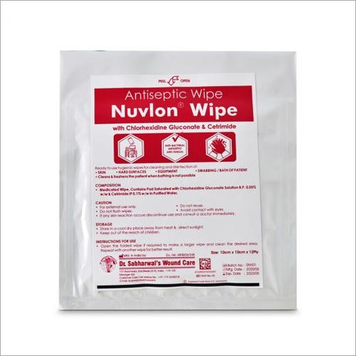 Antiseptic Nuvlon-D Wipe