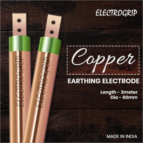 Electrogrip 60mm 3 Meter Pure Copper Earthing Electrode