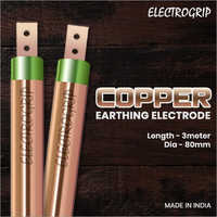 Electrogrip 80mm 3 Meter Pure Copper Earthing Electrode
