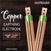 Electrogrip 40mm 2 Meter Pure Copper Earthing Electrode