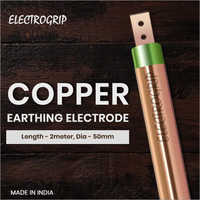 Electrogrip 50mm 2 Meter Pure Copper Earthing Electrode