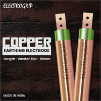 Electrogrip 80mm 2 Meter Pure Copper Earthing Electrode