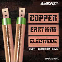 Electrogrip 90mm 2 Meter Pure Copper Earthing Electrode