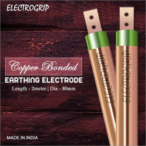 Electrogrip 80mm 2 Meter Copper Bonded Earthing Electrode