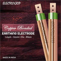 Electrogrip 80mm 2 Meter Copper Bonded Earthing Electrode