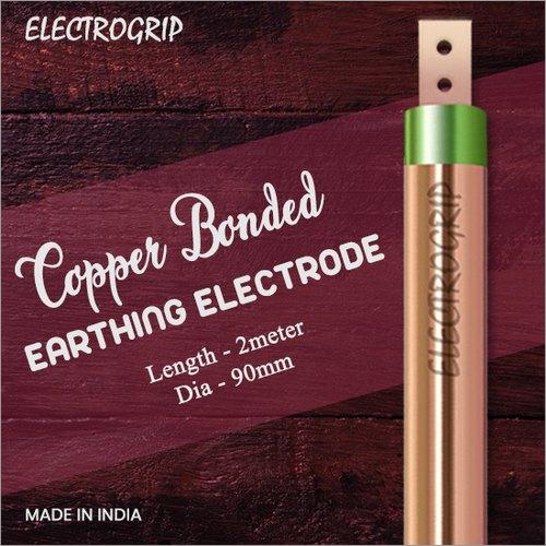 Electrogrip 90mm 2 Meter Copper Bonded Earthing Electrode