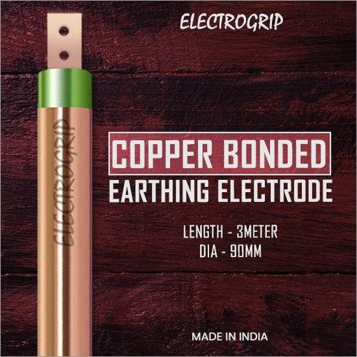 Electrogrip 90mm 3 Meter Copper Bonded Earthing Electrode