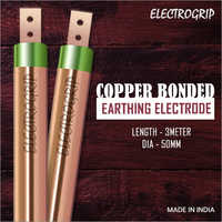 Electrogrip 50mm 3 Meter Copper Bonded Earthing Electrode