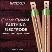 Electrogrip 40mm 3 Meter Copper Bonded Earthing Electrode
