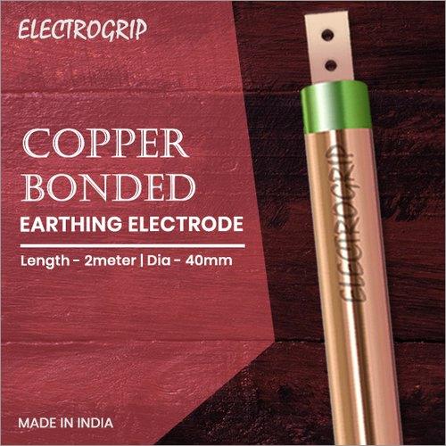 Electrogrip 40mm 2 Meter Copper Bonded Earthing Electrode