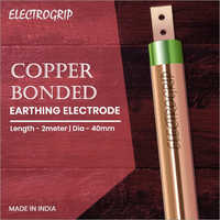 Electrogrip 40mm 2 Meter Copper Bonded Earthing Electrode