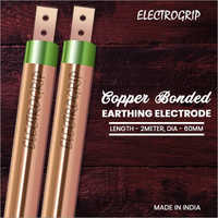 Electrogrip 60mm 3 Meter Copper Bonded Earthing Electrode