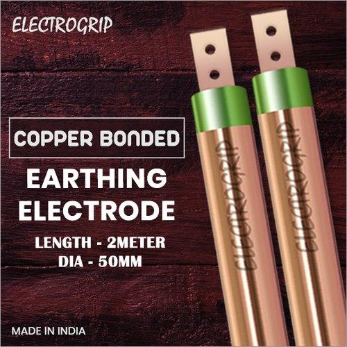 Electrogrip 50mm 2 Meter Copper Bonded Earthing Electrode