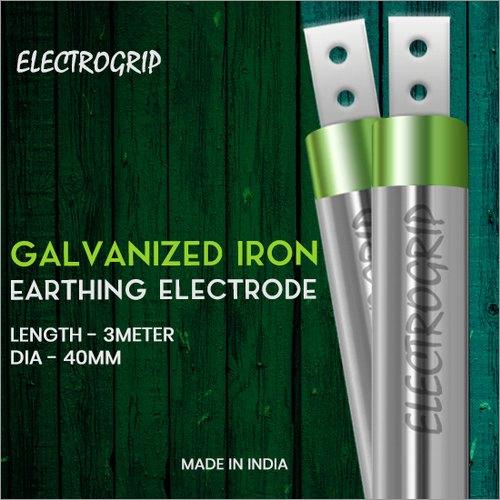 Electrogrip 40mm 3 Meter GI Earthing Electrode