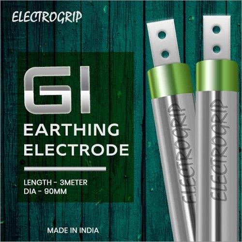Electrogrip 90mm 3 Meter GI Earthing Electrode