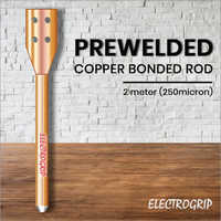 Electrogrip 2 Meter 250 Micron Prewelded Copper Bonded Rod