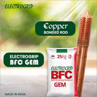 Copper Bonded Rod with Electrogrip BFC GEM