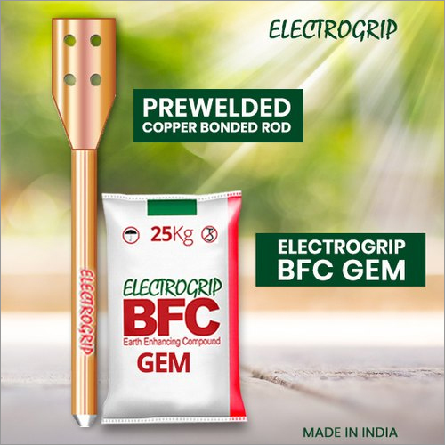 Prewelded Copper Bonded Rod With Electrogrip BFC GEM