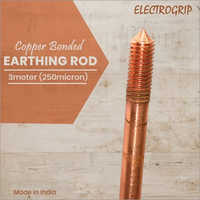 Electrogrip 3 Meter 250-micron Copper Bonded Earthing Rod