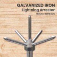 Electrogrip Galvanized Iron Conventional Lightning Arrester