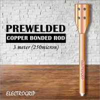 Electrogrip 3 Meter 250 Micron Prewelded Copper Bonded Rod