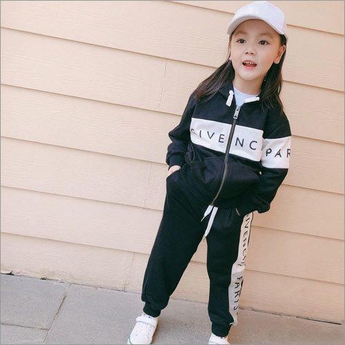 Girlish Kids Lycra Track Suit