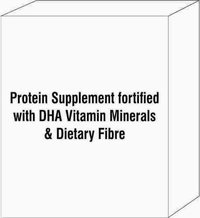 Protein Supplement Fortified With Dha Vitamin  Minerals & Dietary Fibre