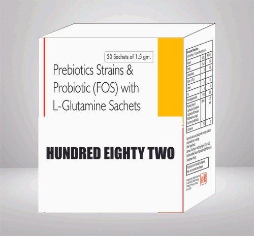 Prebiotics Strains & Probiotic With L Glutamine Sachet