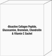 Bioactive Collagen Peptide, Glucosamine, Bromelain, Chondroitin & Vitamin C Sachet