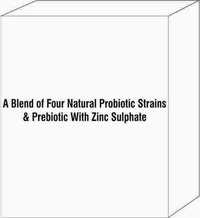 A Blend Of Four Natural Probiotic Strains & Prebiotic With Zinc Sulphate