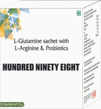 L Glutamine Sachet With L Arginine & Probiotics