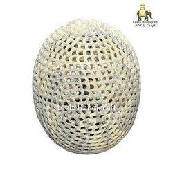 Stone Egg Under Cut Buddha Figure