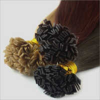 Flat Tip Virgin Indian Remy Hair Extension