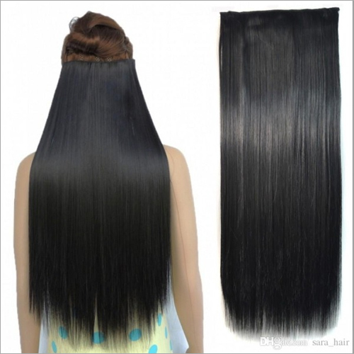 24 Ear To Ear Double Drawn Clip In Hair Extension