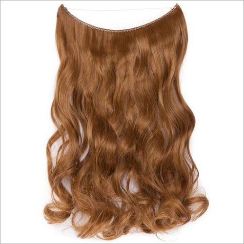 Natural Wave Brown Color Clip In Hair Extension