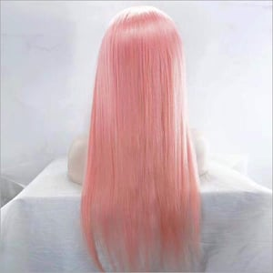 Baby Pink Front Lace Wig