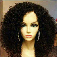 Afro Curl 10010 Natural Human Hair Full Lace Wig
