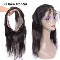 360 Lace Frontal 1009 Natural Virgin Indian Remy Temple Hair
