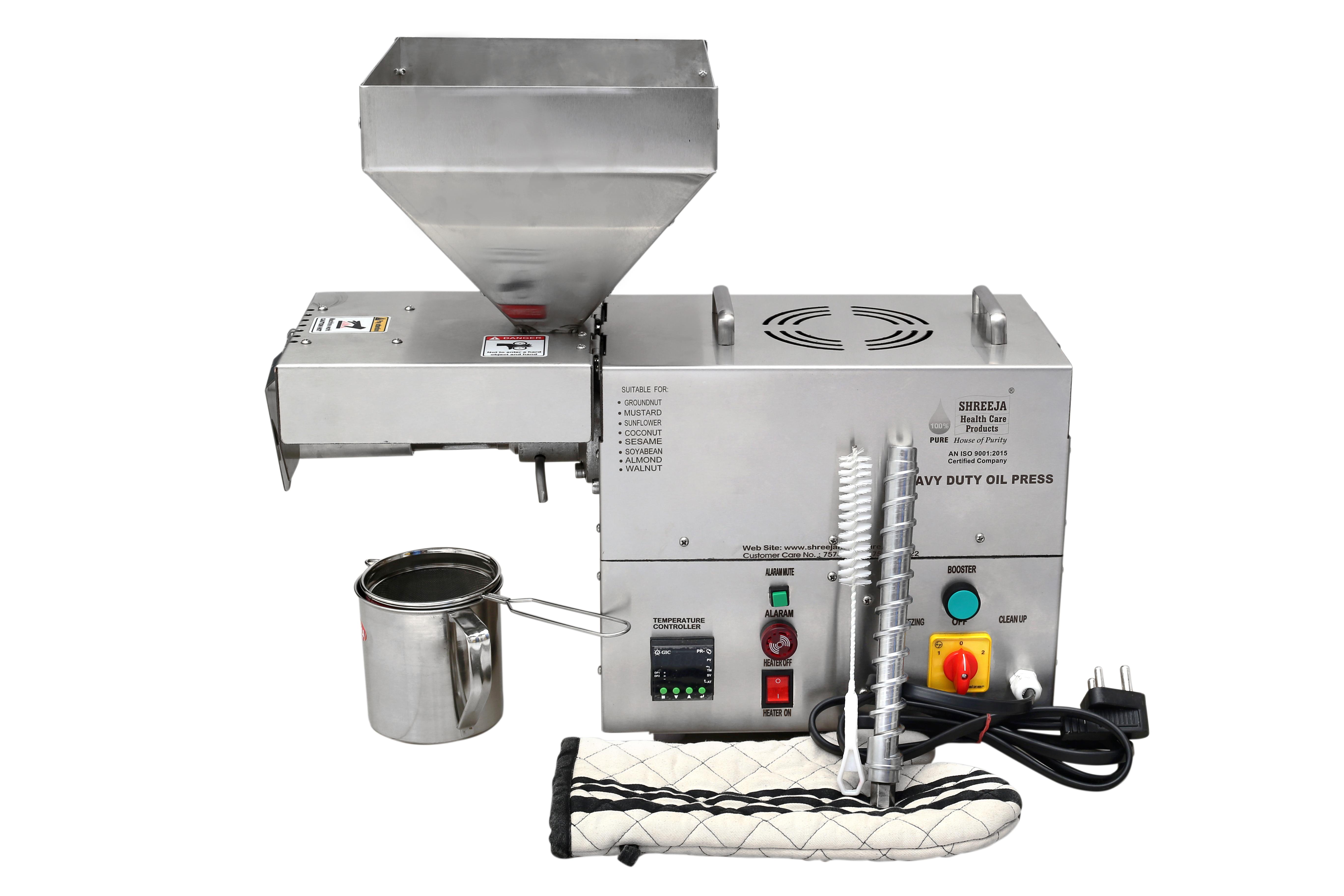 Mini Screw Press Oil Extraction Machine