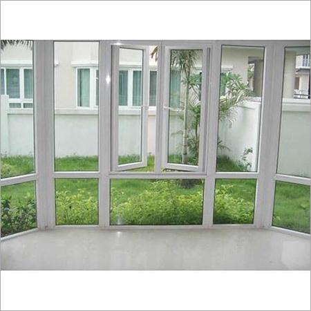 White Glass Window