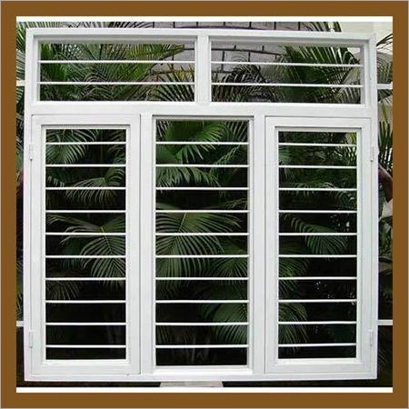 White Standard Metal Window