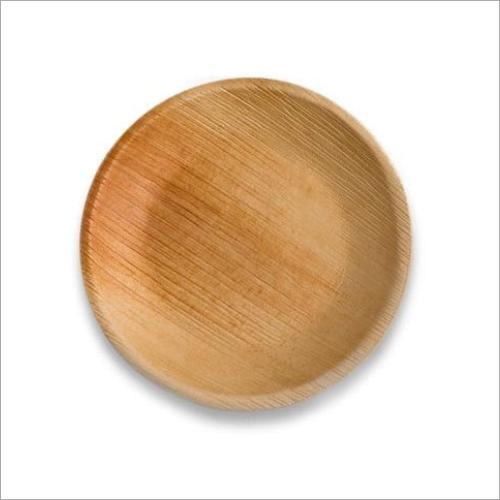 10 Inch Areca Palm Leaf Round Plate