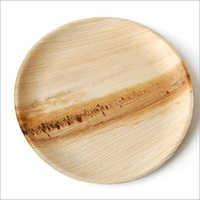 8 Inch Areca Palm Leaf Round Plate