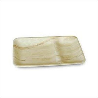 Areca Palm Leaf 2 Partition Plate