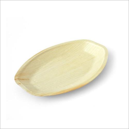 13 Inch Areca Palm Leaf Oval Tray