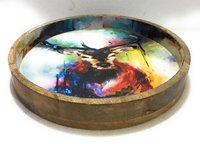 Tray in Exclusive Cow Design