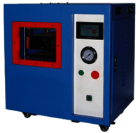 A-4 Hydraulic Fusing Machine 100 Cards ( Double Chamber)